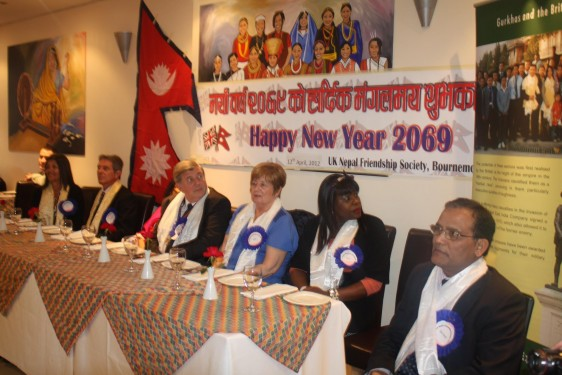 Nepali New Year 2012 Party at the Gurkha 2 restaurant