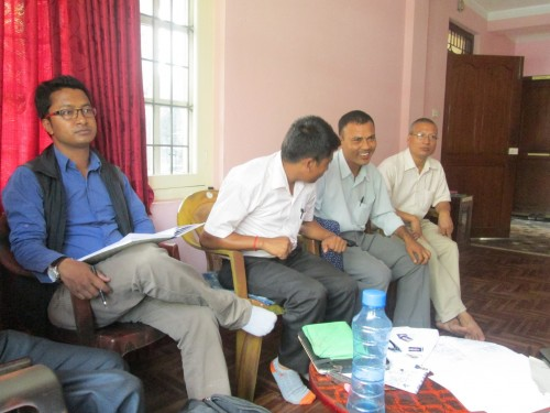 UKNFS Nepal chapter meeting in KTM Summer 2013